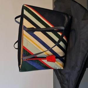 TORY BURCH NY Balloon TOTE BAG Gently Used